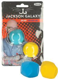 Jackson Galaxy cat dice rubber/soft