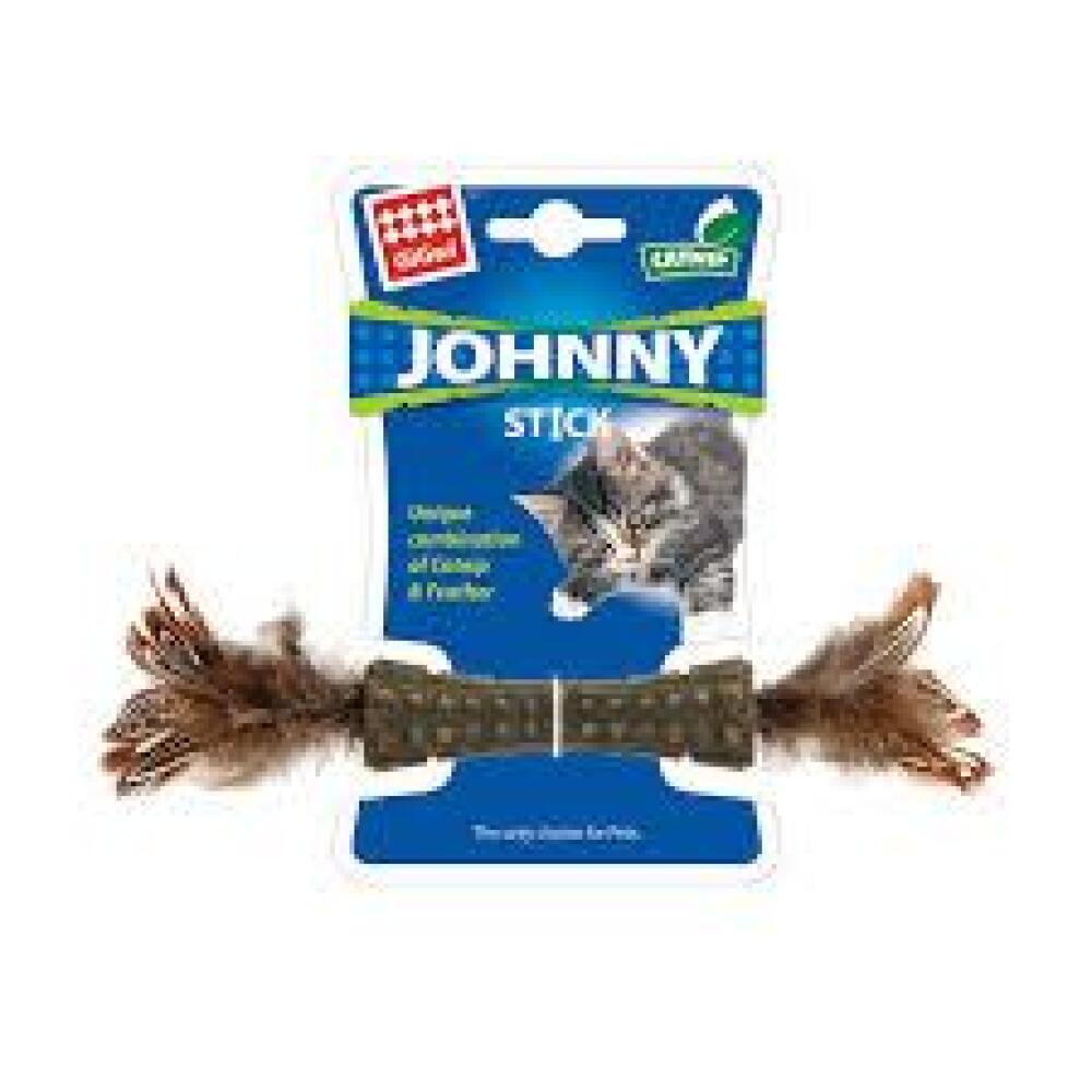 Johnny stick catnip m/fjær