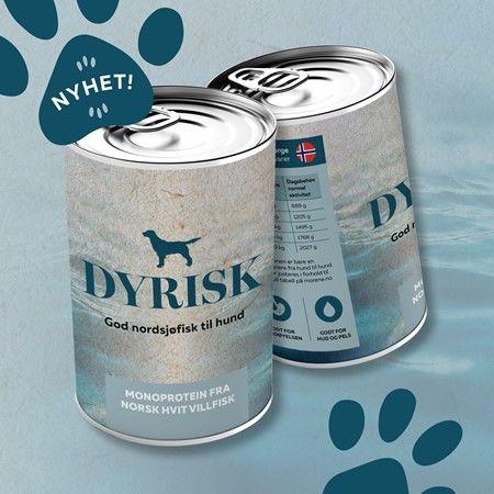 Dyrisk Norsk Hvit Villfisk 400gr