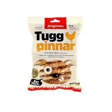 Dogman Tyggpinner m.kylling 30-p S 12cm