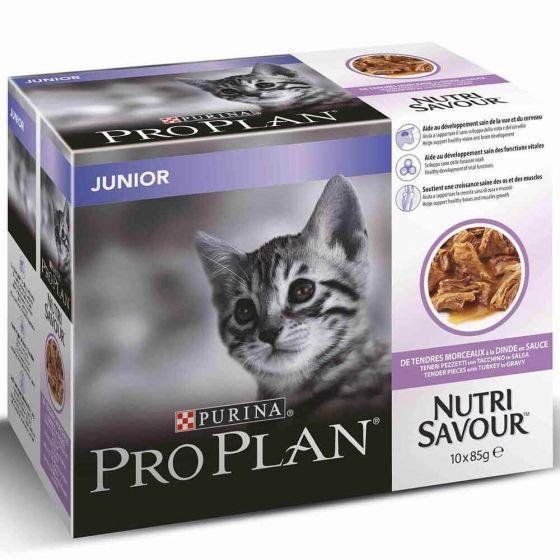 Pro Plan Cat Junior Turkey 10 pack