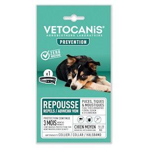 Vetocanis anti parasittbånd 10-20kg 60cm