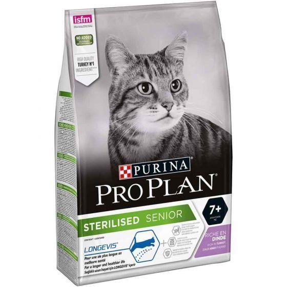Pro Plan Cat Sterilised Senior 7+ Turkey