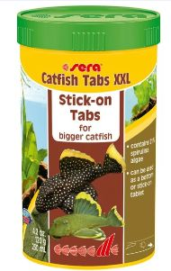 Fiskefor Sera Catfish Tabs XXL 250ml