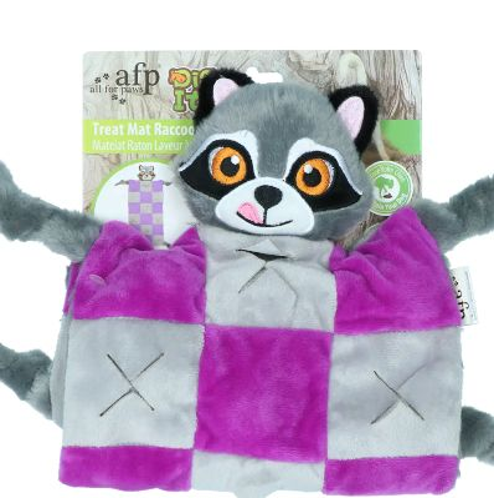 AFP Dig It - Treat mat Raccoon