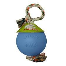 Jolly Ball Romp-N-Roll 15cm lysblå