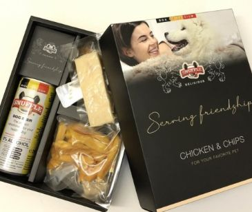 Gift Box, Snuffle Chicken & Chips