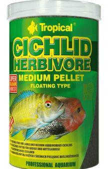 Tropical Cichlid Herbivore Medium Pellet