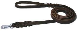 Alac koppel lær mørk brun 1,5x150cm