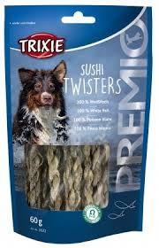 Sushi Twisters 100% Hvit Fisk 60 g