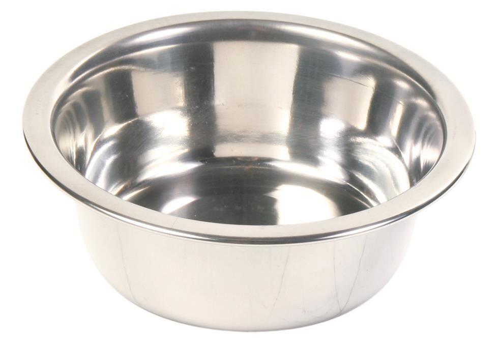 Hundeskål i Rustfritt Stål 1,8L