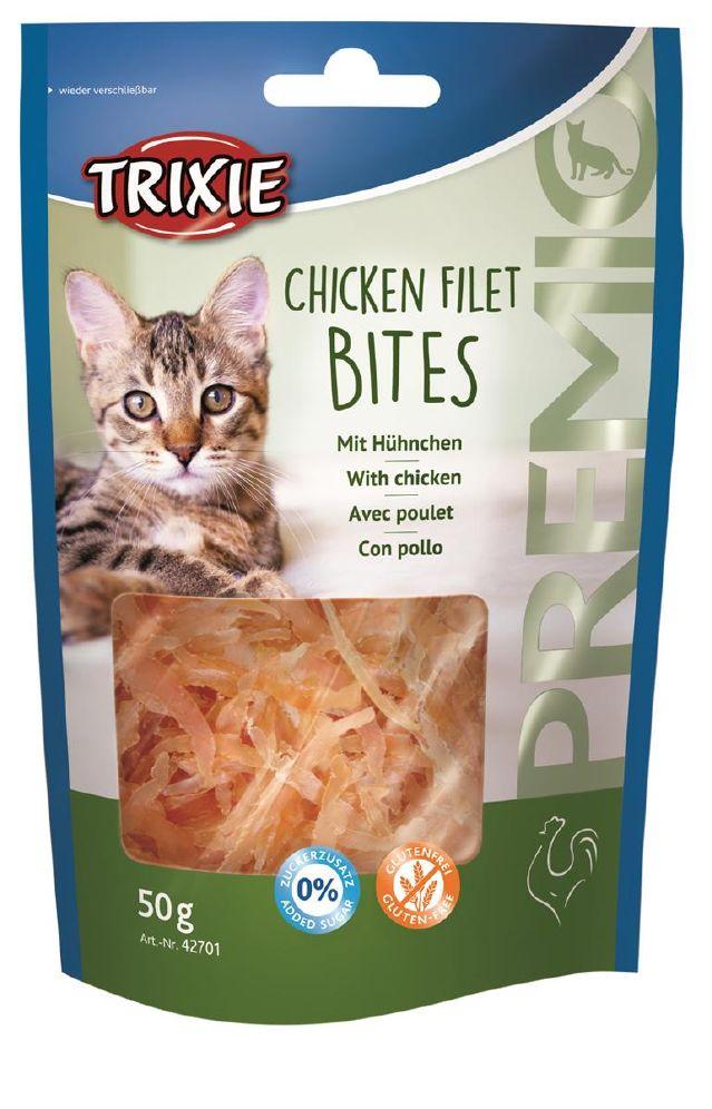 Trixie Premio Filet Bits M/Kylling 50g