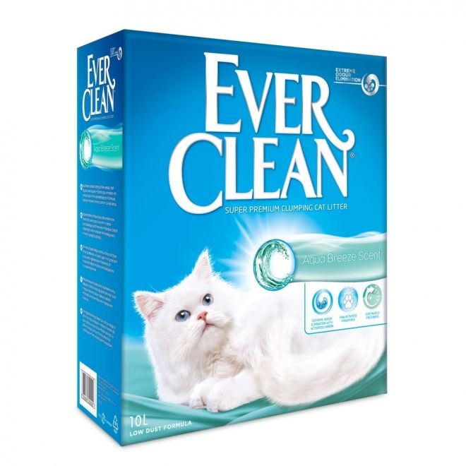 Ever Clean 10liter Aqua Breeze Scent