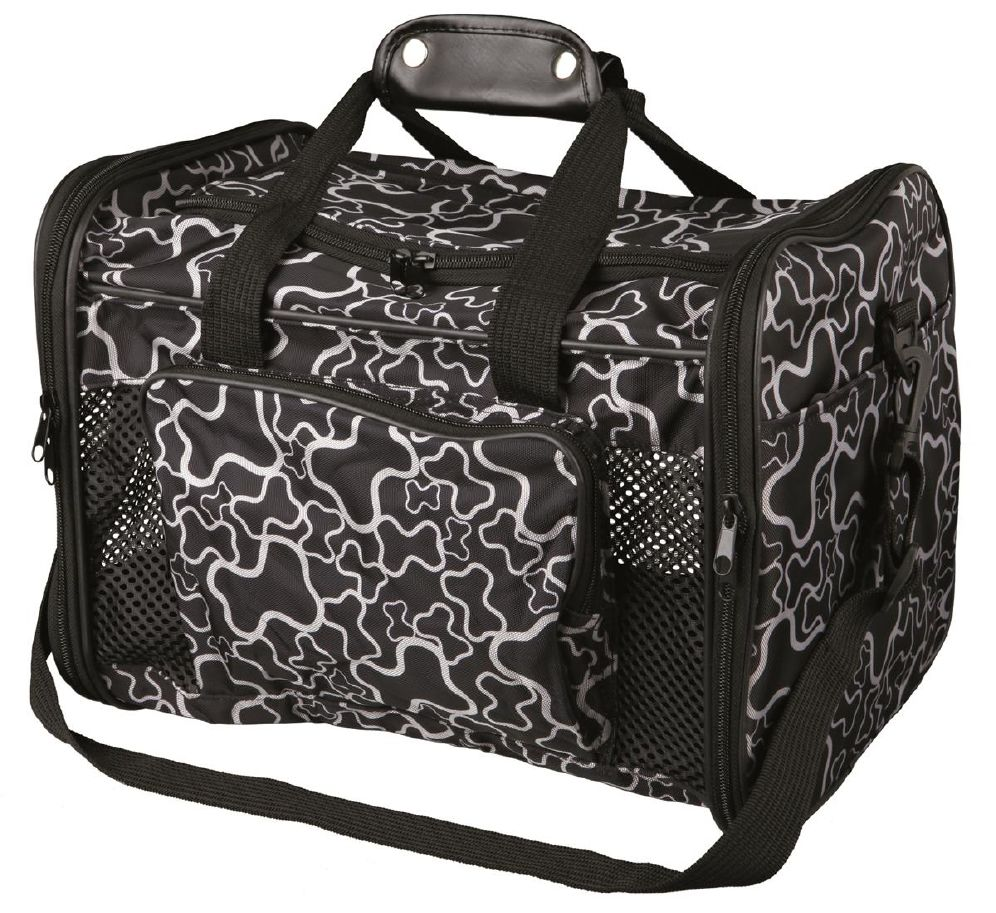 Transportbag 2889 Nylon Sort M/Mønster