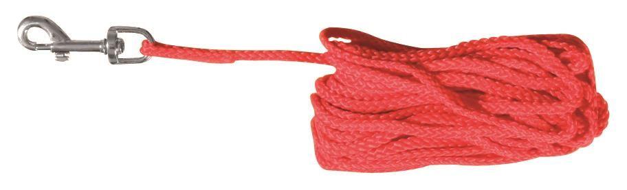 Trixie Sporline  Nylon 10m x 5mm Rød