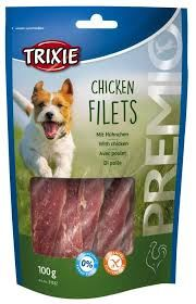 Trixie Chicken Filets Light 100g