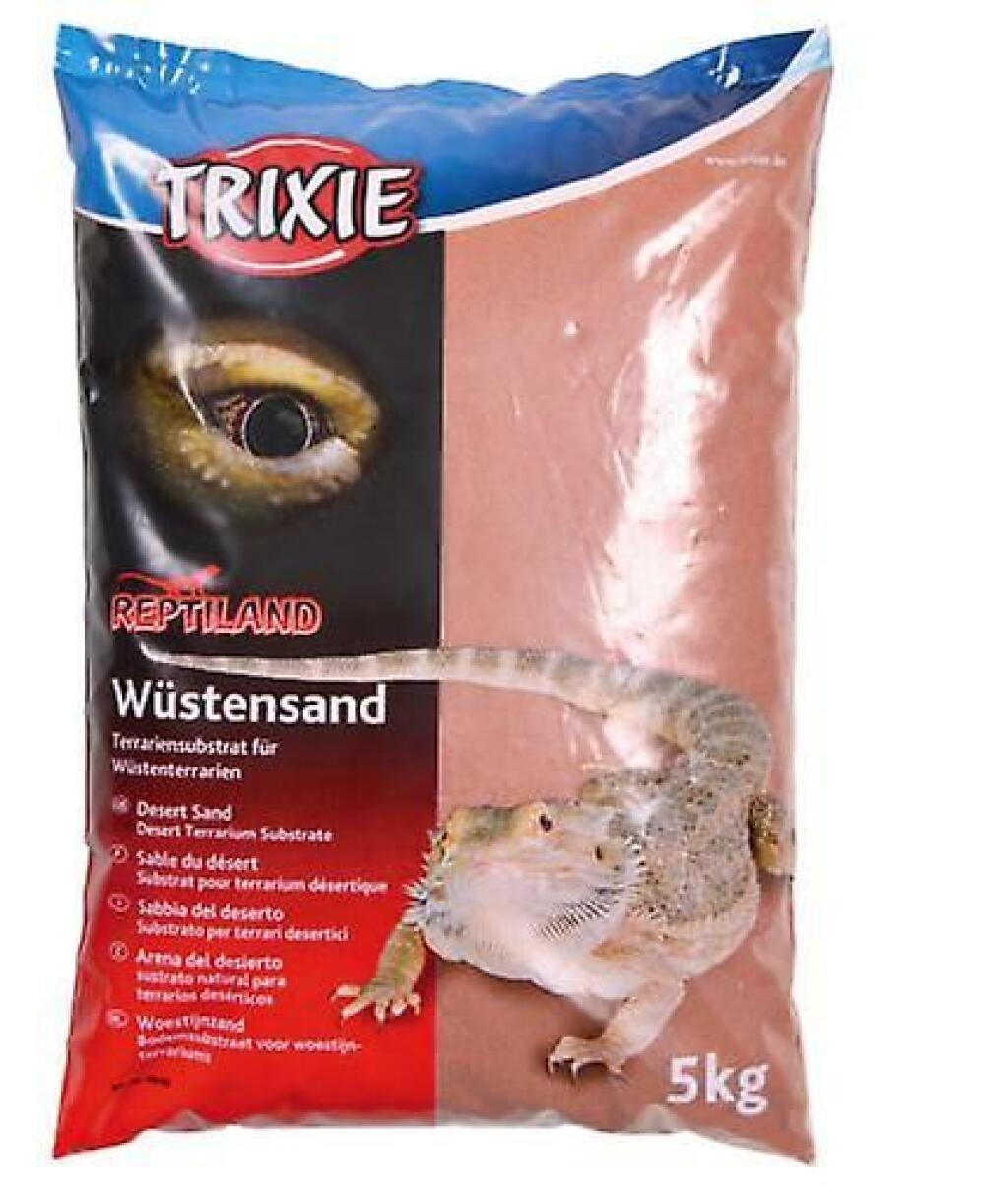 Trixie Sand Ørken for Terrarium 5 kg Rød