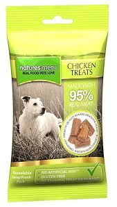 Natures Menu treats dog chicken