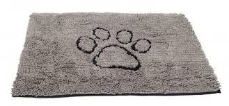 Dirty Dog Doormat Grå 79x51 cm