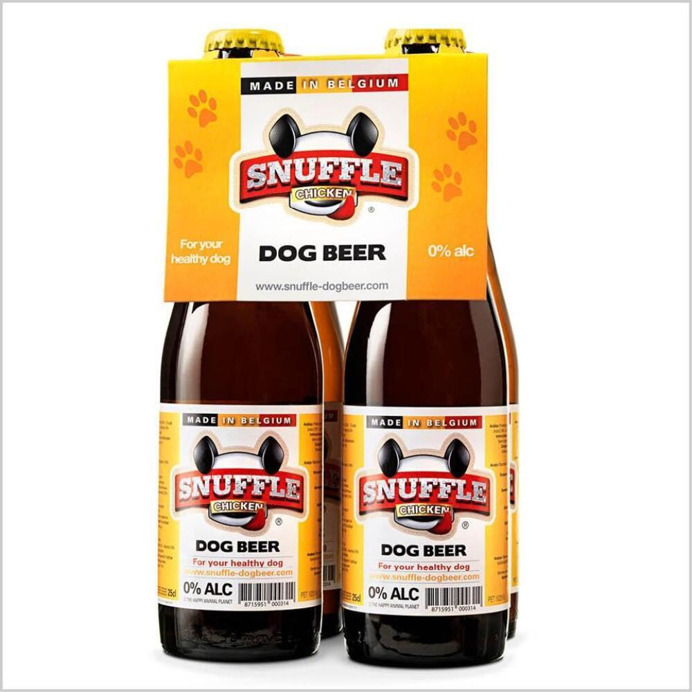 Øl Til Hund 25cl M/Kylling smak 1stk