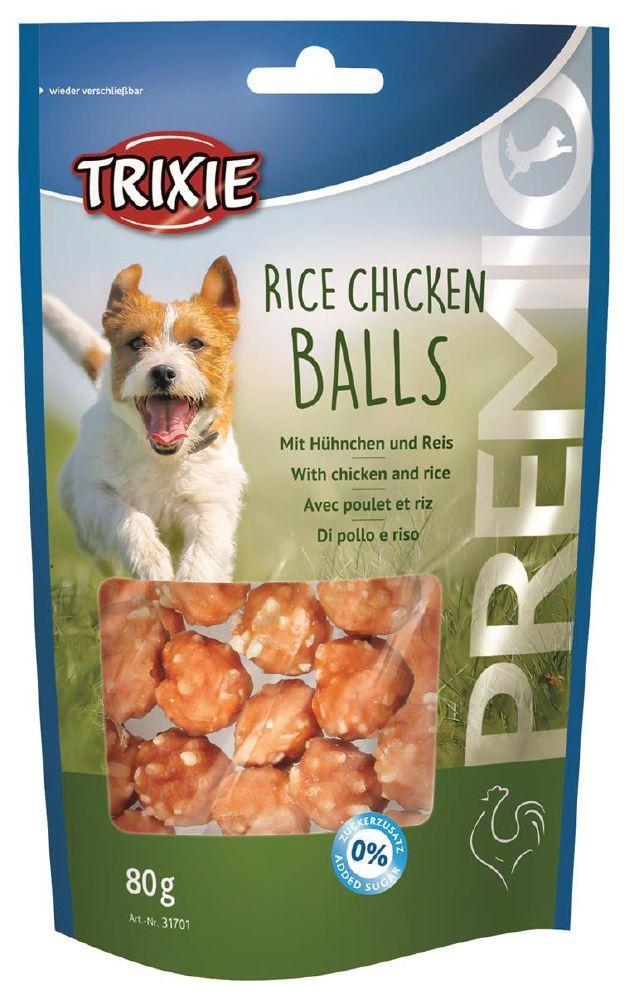 Trixie Rice Chicken Balls 80g