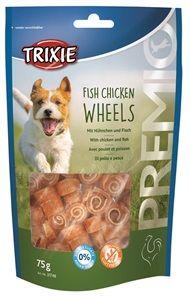 Trixie Fish Chicken Wheels 75g