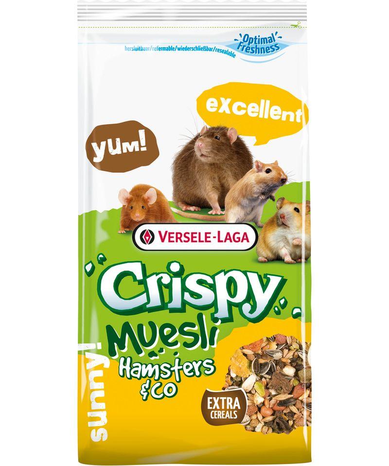 Verselaga Crispy Muesli Hamster & Co 1kg