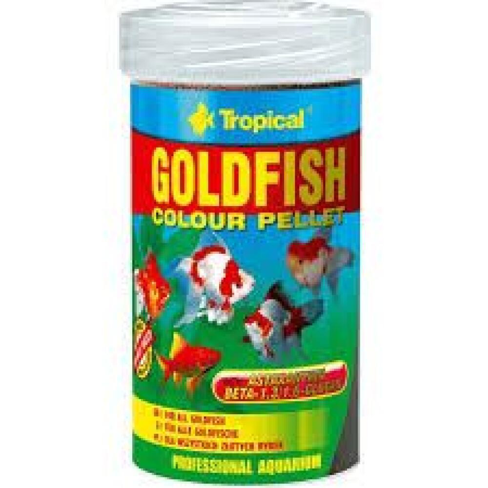 Tropical Goldfish pellet 100ml
