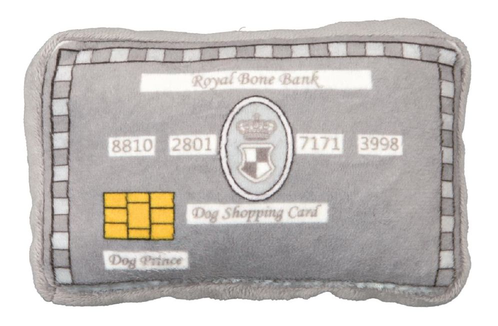Hundeleke dog Prince Kredittkort