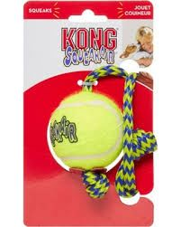Kong Tennisball m/tau Medium