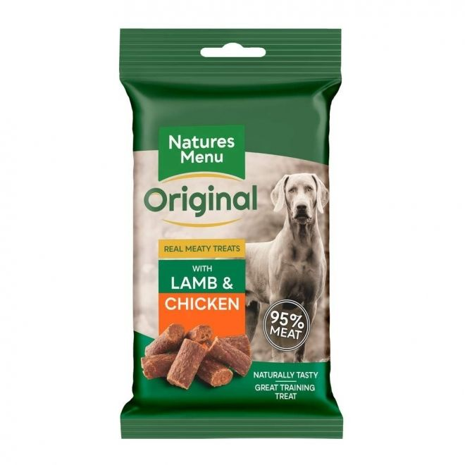 Natures Menu treats dog lamb
