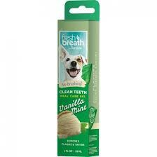 Tropiclean fresh breath gel vanilla mint