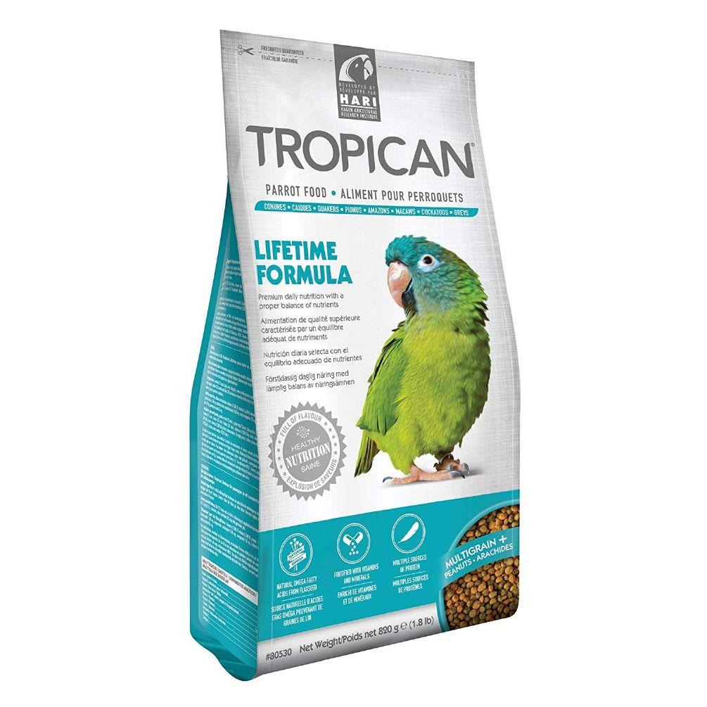 Tropican granulat papegøye